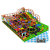 Naughty Castle Soft Playground with 3d model and installation drawing franchise children indoor playground