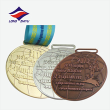 Gold copper silver animal sport wholesale medal award