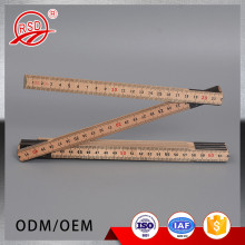 Guangzhou Factory Wholesale Dressmaker Tools Multi-Functional Adjustable Wooden Folding Ruler