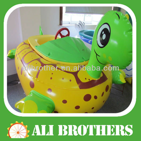 Animal design bumper boat for baby /bumper boat in inflatable pool