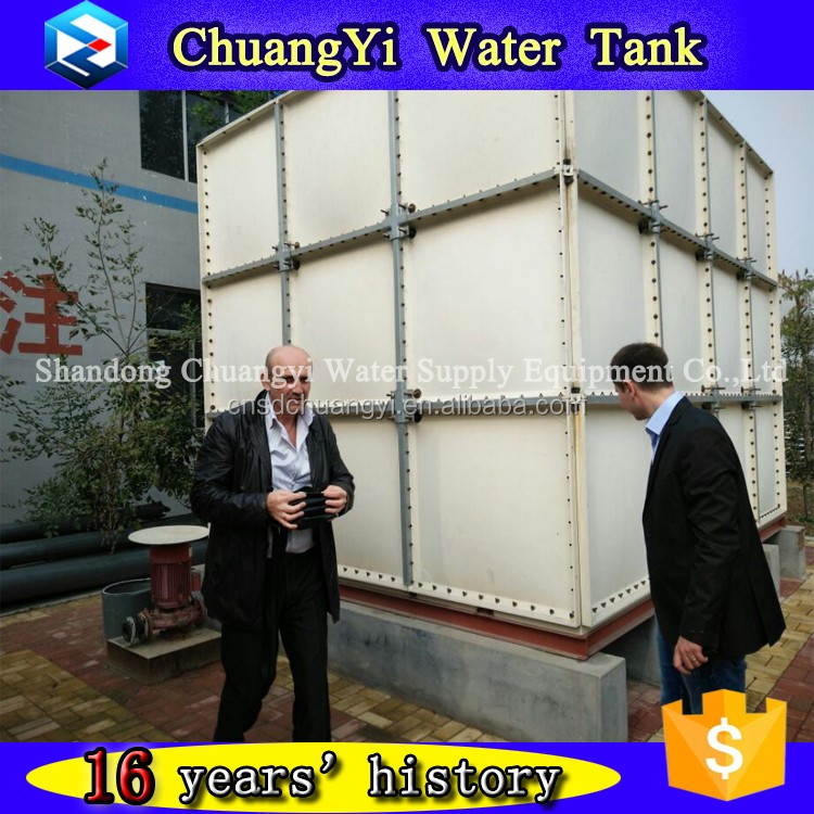 Bolted type Fiberglass Water Tank for drinking water / Sea water / Fire fighting water and water treatment
