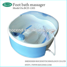 Household electric roller portable foot bath BCD-1203