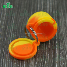 Non stick BHO Oil Container Food Grade Silicone Honey Concentrater Jar BHO Dabber Tool Wholesale