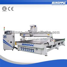 SINOMAC S7-2040 cnc router machine for Ebony wood carve