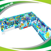Special design indoor playground with spaceship kids toy