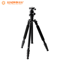 2018 LeadWin professional aluminium alloy dslr camera tripod stand flexible and can be folded and detachable monopod