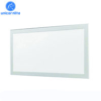 Hot sale 600x600 600x1200 30w 50w 130lm/w dimming LED panel light with 5 years warranty