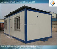 low cost color steel sandwich panel prefab houses china