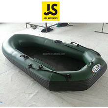 Different size pvc inflatable pontoon fishing boat