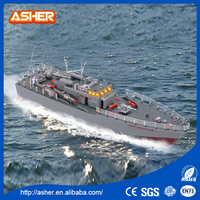 Funny kids toys 4 channel 3.6KM/H waterproof torpedo rc boat for sale