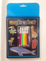 2016 fuzzy art/ kids Magic Velvet coloring book