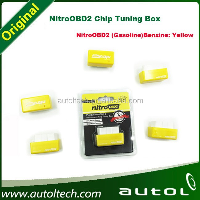 NitroOBD2 Chip Tuning Box driving much more KM/Mile / increasing the performance of engine for gasoline