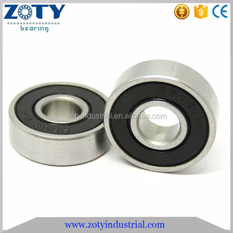 Low Price Miniature Ball Bearing 608 2RS with rubber seals