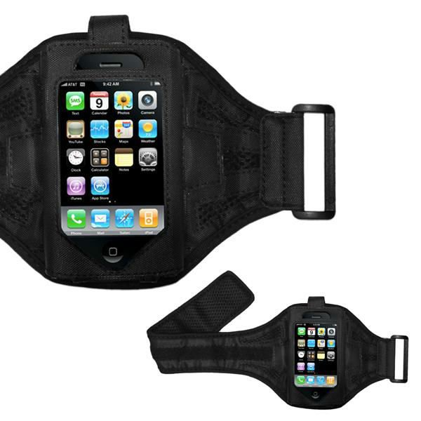 New Black Sport Skin Case Armband For Apple Iphone 3G 4G