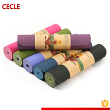 WINMAX high resilient light weight Eco-friendly TPE yoga mat