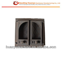 HT200 Sand Casting Home / Company used Outdoor Fireplace