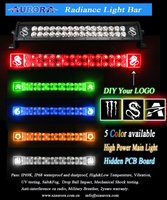 10 inch 12V White background Radiance light bar high power offroad headlight