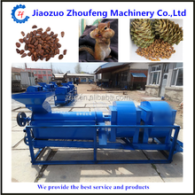 Factory Outlet High Quality Pine Cone Crusher / Pine Nut Shelling Machine