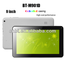 "9"" Good price tablet with all winner a13 cpu, dual camera,android os 9"" Good price tablet"