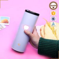 Innovative LED Electric Temperature Color Change Battery Powered Touch Sensing Cup coffee mug