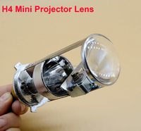 2015 New arrival Factory price 12V 35W Mini hid Bi xenon projector lens H4