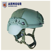Special forces safety MICH aramid bulletproof helmet