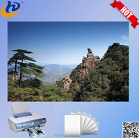 Best selling full color high glossy inkjet rc photo paper a4