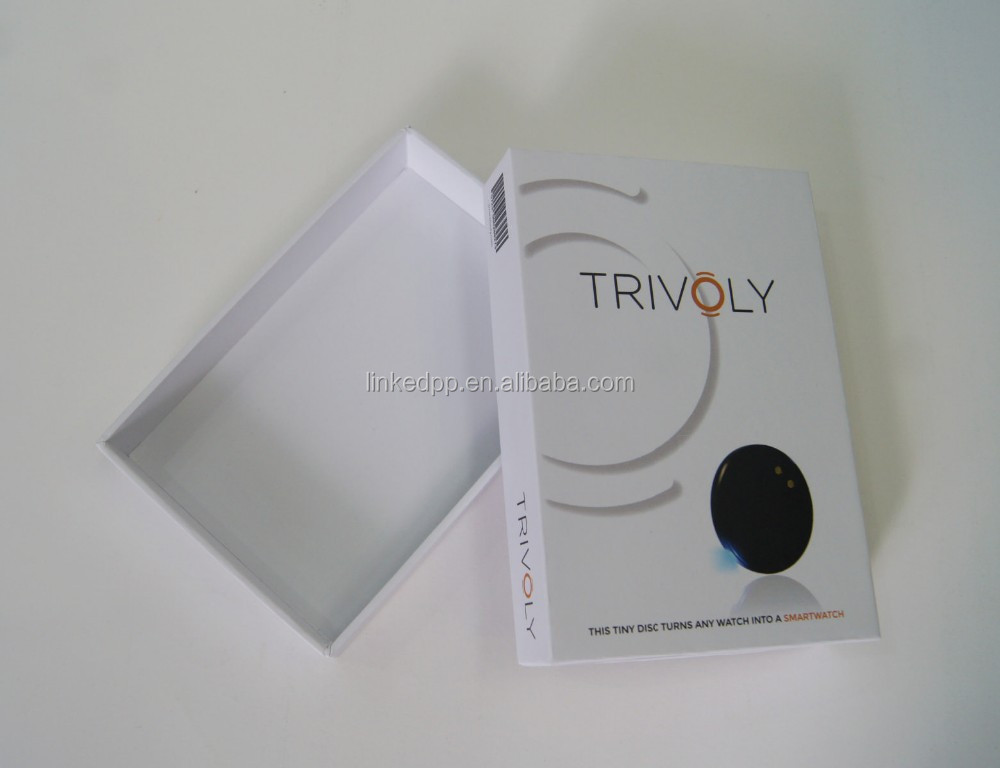 Phone Case Packaging Box with Removable Lid / Option choice of inner paper tray