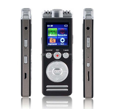 Support TF card expansion 32GB and internal 8GB memory long distance mini portable voice recorder