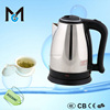 1.8L water boiler electric safe turkish tea kettle with tray set