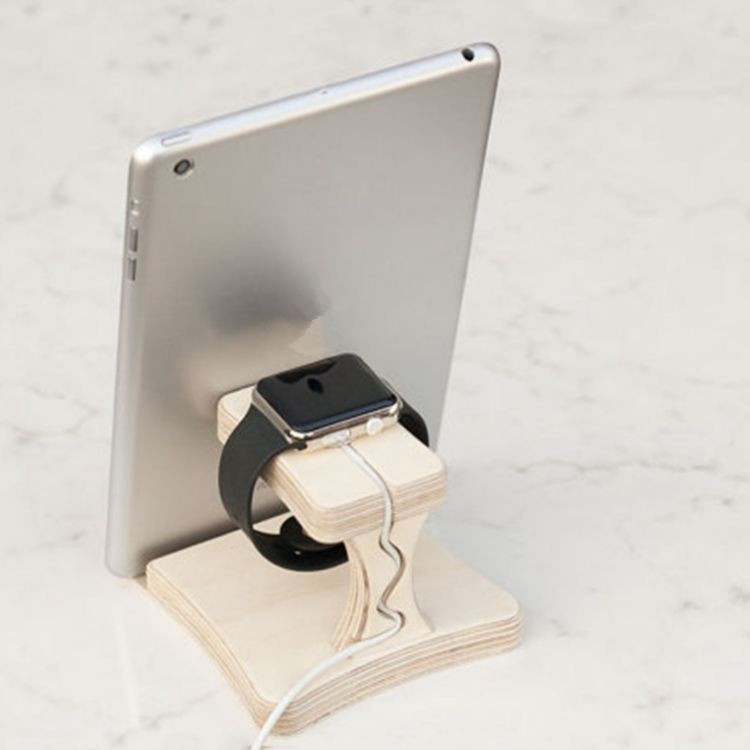 non rechargeable wood tablet charging station