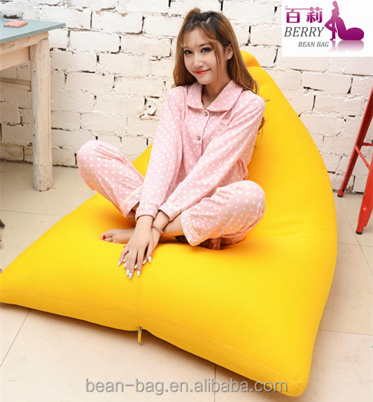 Best-selling Triangle Mesh Indoor and Pool Bean Bag Lounge Wholesale Manufacturer