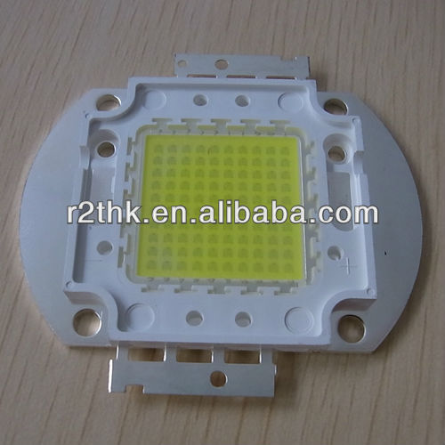Excellent heat sink high bright 120lm/<strong>w</strong> Oval Copper Base Bridgelux Epistar 100W COB LED Chip
