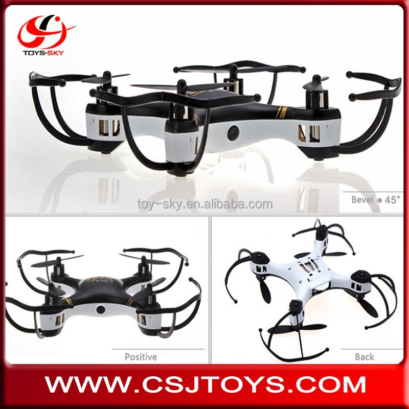 Hot sale Can OEM logo Quadcopter easy to control Unique propeller 13cm 4-Axis 760 electric motor Mini Heli drone