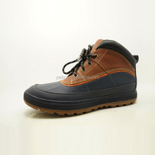thick leather upper hard toe made by order men leather safety shoes factory