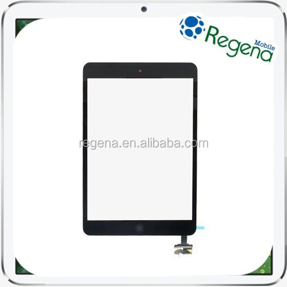 For iPad Replacement Parts Touch Sreen Digitizer with IC Connector Flex Assembly for iPad mini/mini2