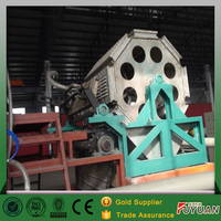 Egg tray forming machine racycling waste paper plate paper machine