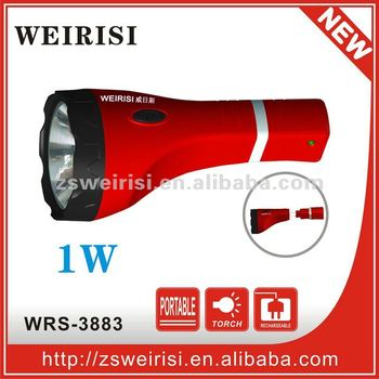 Rechargeable LED Flashlight (WRS-6007L)