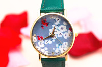 Freeshipping fashion new model special face women wrist designer watch