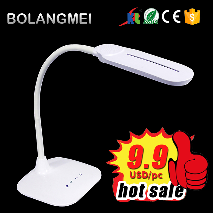 low power consumption led desk lamp with Efficient heat dissipation for bedside