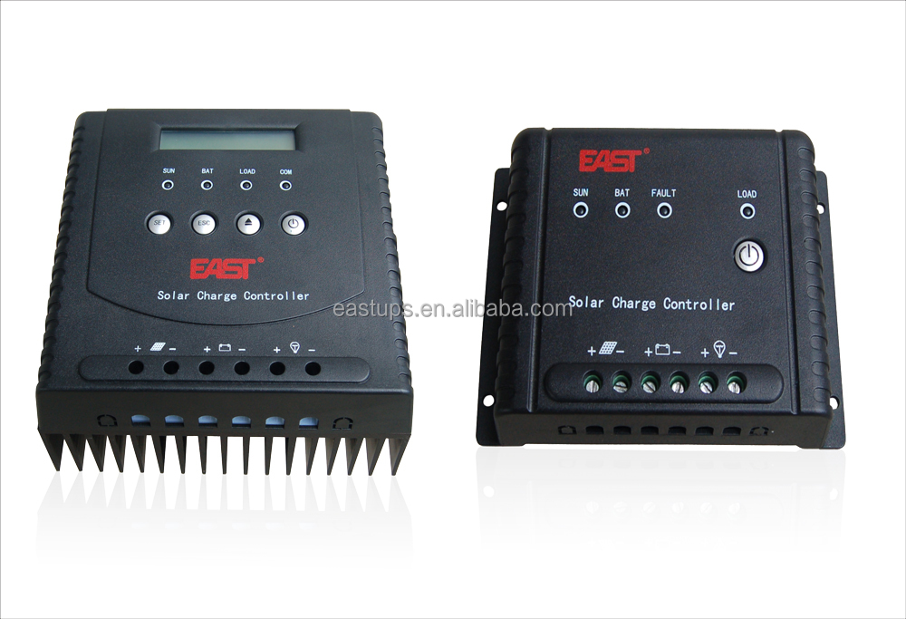 MPPT solar charger controller with LCD & LED display (5A~60A)