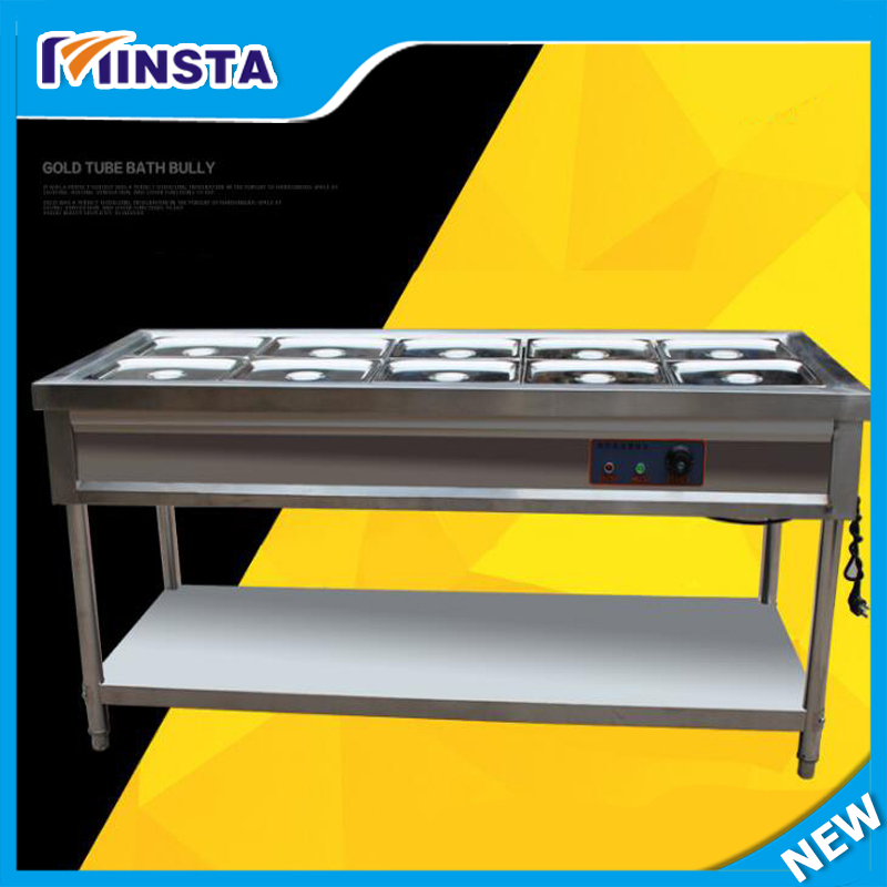 Commercial 8 Pan used food warmer/food warmer for sale