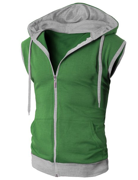 bulk order wholesale sleeveless zip hoodie light sweatshirt cotton colored abayas coats