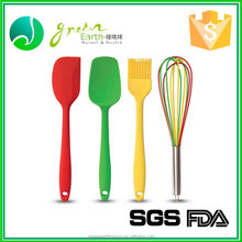 2016 BPA free kitchen cooking , silicone cooking set