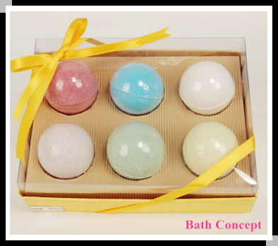 Bath Bomb Gift Set Bath Fizzer Set
