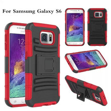 Wholesale Rugged Hybrid Kickstand Case for Samsung Galaxy S6
