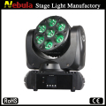 7 x 15w RGBW 4 in 1 Mini moving head led beam light/beam moving head