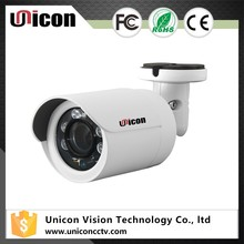 Unicon Vision 4 in1 hd tvi camera 3.6mm outdoor ir bullet with 20m night vision 1080p analog camera