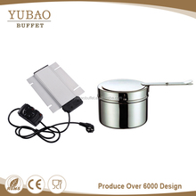 Guangzhou chafer chafing dish parts of buffet food warmer heat liquid chafing dish gel fuel