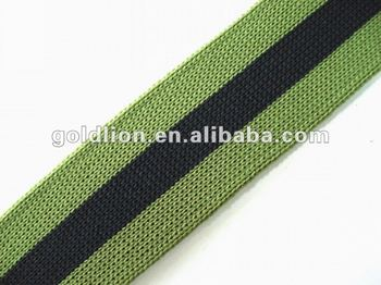 Polyester Knit Elastic band Webbing flexible strap